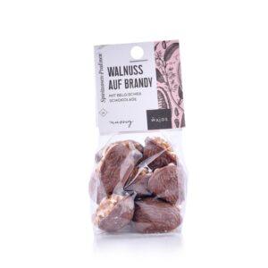Walnuss auf Brandy - mit belgischer Schokolade - Cestino di Carmen