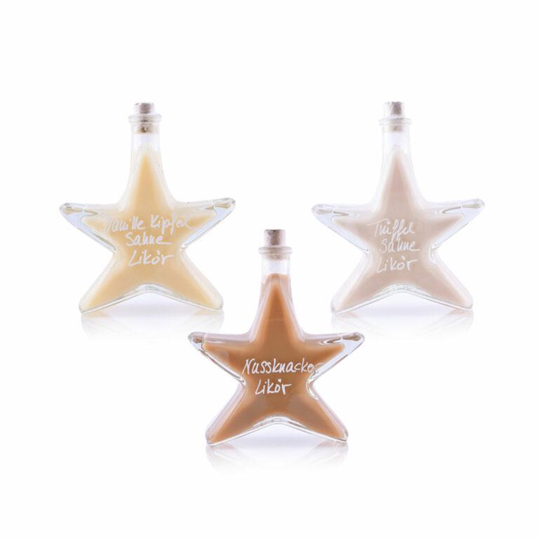 3 Sterne Weihnachtsgeschenk
