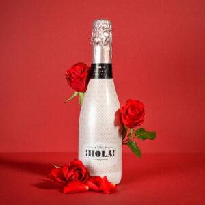 Cava Hola! Brut Rosé Geschenk zum Valentinstag