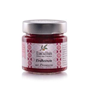 Erdbeeren mit Prosecco